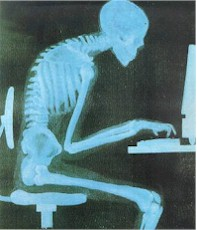 poor posture - forward head posture epidemic